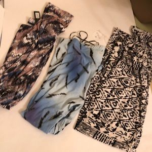 Pants - Multi-color leggings lot M